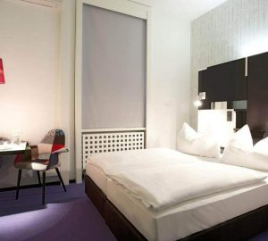 Chambre Double Hotel Cristall Francfort