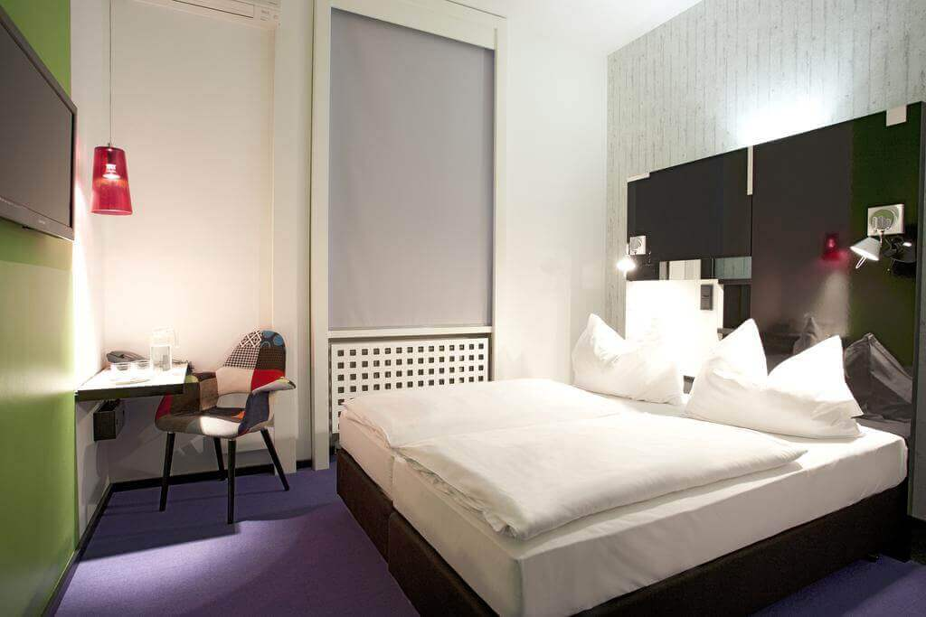 Hotel Cristall Frankfurt Quarto Duplo