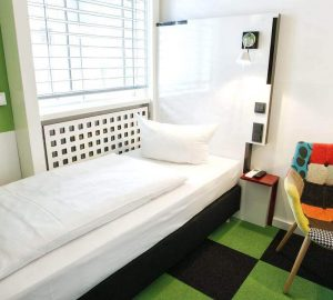 Chambre simple Hotel Cristall Frankfurt