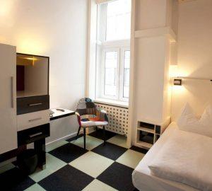 Hotel Cristall Frankfurt Einzellzimmer