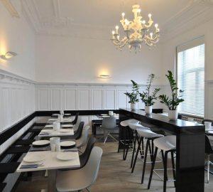 Salle de petit déjeuner de l'hôtel Cristall Frankfurt